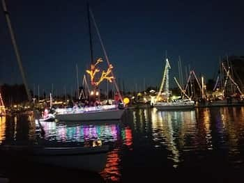 santa cruz lighted boat parade
