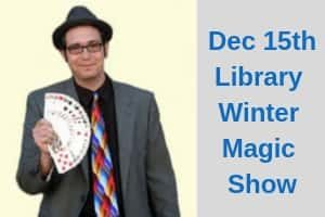 Library Winter Magic Show