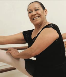 ballet dancing in older age