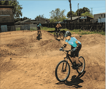 BMX bike tracks santa cruz