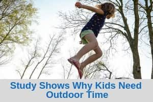 Study shows why kids need outdoor time