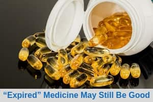 """Expired"" medicine may still be good"
