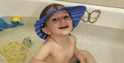 bathtime tips for kids who hate shampoo