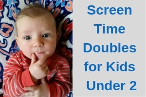 screen time for kids under 2