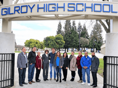 Gilroy high school administration