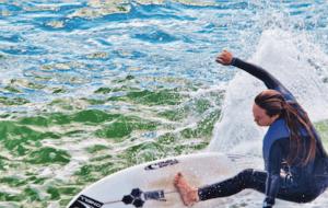 surfing in santa cruz inspiration