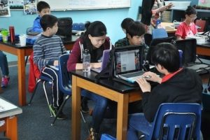technology in classrooms santa cruz