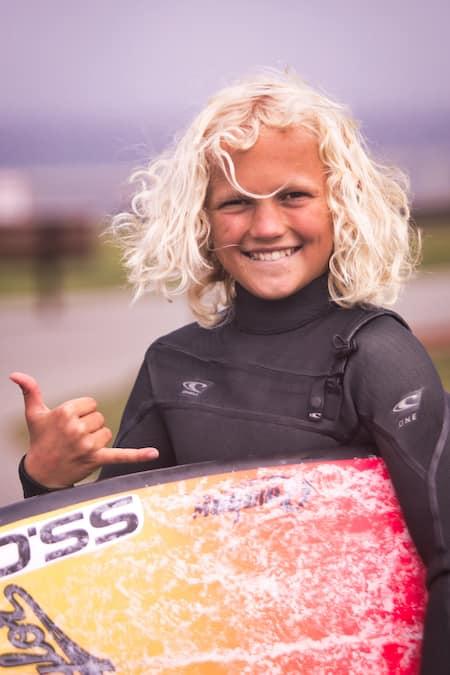 Jackson Taylor Santa Cruz surfer