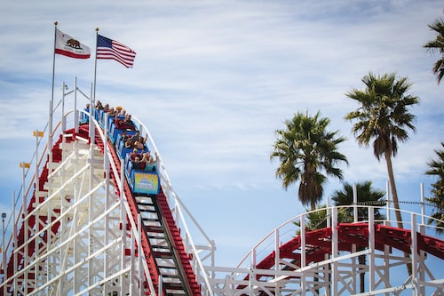 giant dipper santa cruz beach boardwalk
