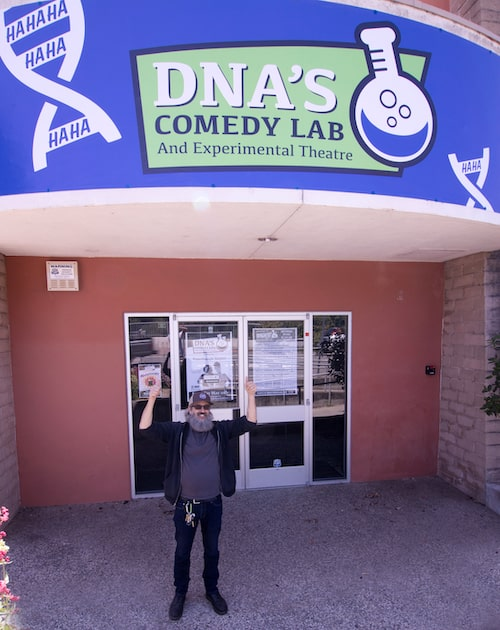 dna's comedy lab santa cruz