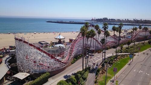 giant dipper santa cruz beach boardwalk