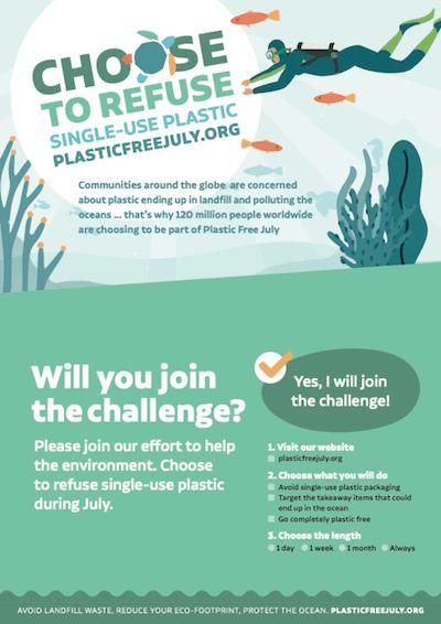 santa cruz plastic free challenge
