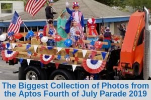 The Biggest Collection of Photos from the Aptos Fourth of July Parade 2019