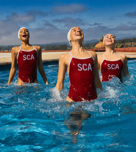 synchronized swimming santa cruz