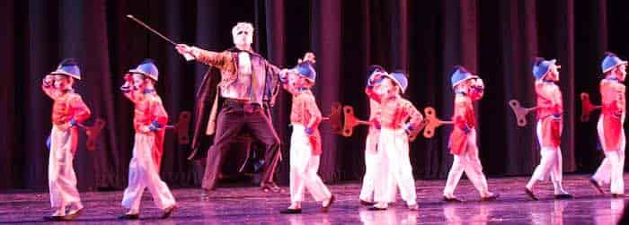 nutcracker Santa Cruz City Ballet's performance at Cabrillo's Crocker Theater