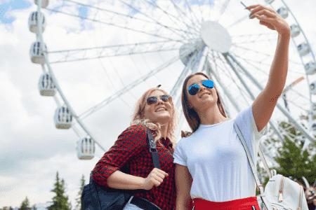 social media theme parks