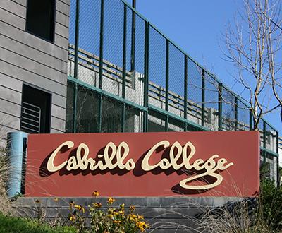 Cabrillo College Sign
