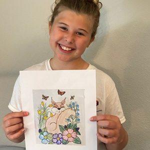 Audrey age 9 Fox copy