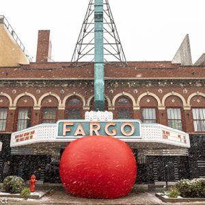 Red Ball Project in Fargo, ND 2018